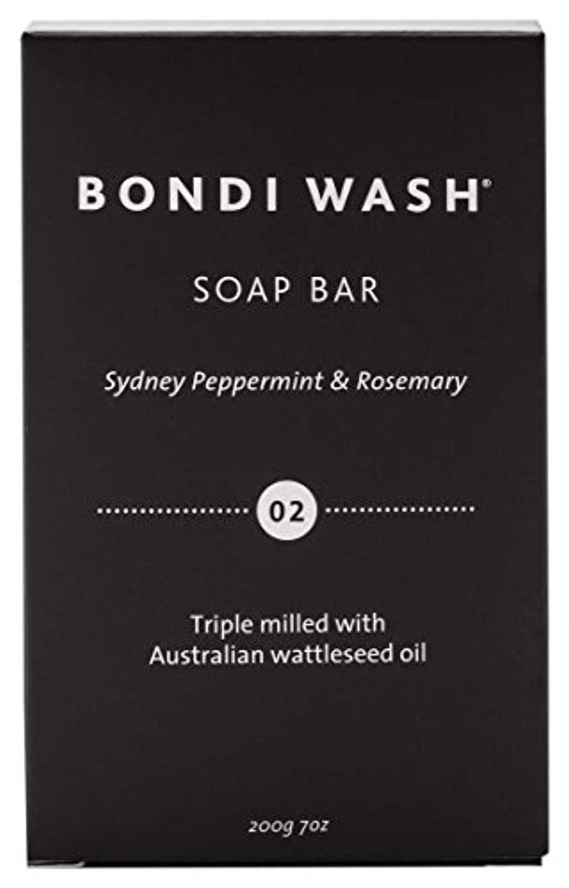 買うタフ大胆不敵BONDI WASH ソープバー(固形石鹸) シドニーペパーミント&ローズマリー 200g