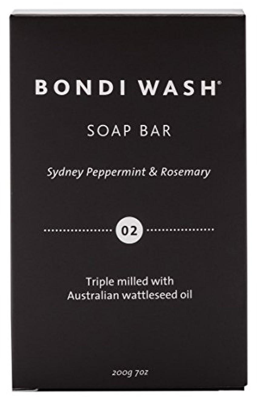 割り込み不適当放課後BONDI WASH ソープバー(固形石鹸) シドニーペパーミント&ローズマリー 200g