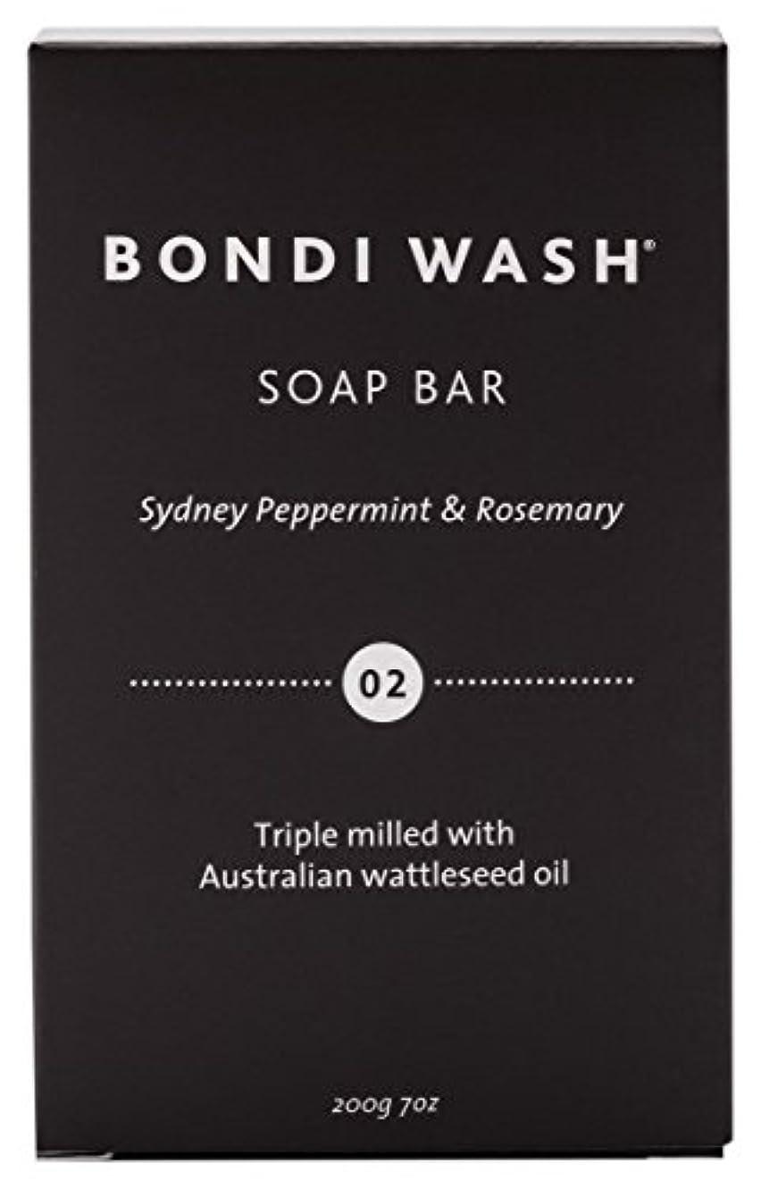 エントリ羊の幸福BONDI WASH ソープバー(固形石鹸) シドニーペパーミント&ローズマリー 200g