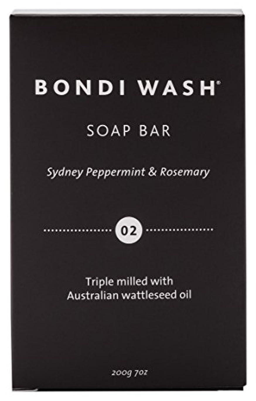 繰り返した粉砕する金貸しBONDI WASH ソープバー(固形石鹸) シドニーペパーミント&ローズマリー 200g