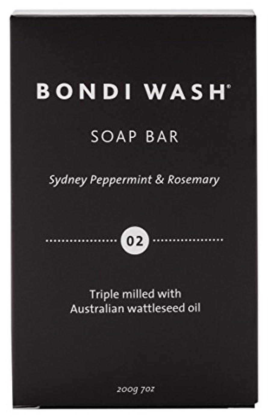 銀河示す説得力のあるBONDI WASH ソープバー(固形石鹸) シドニーペパーミント&ローズマリー 200g