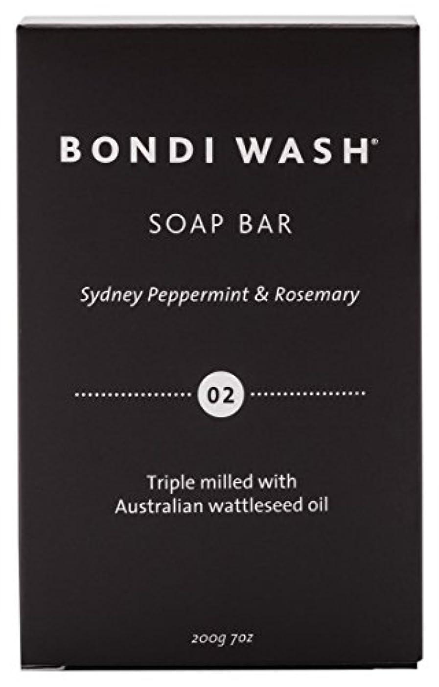 トークン予防接種アクチュエータBONDI WASH ソープバー(固形石鹸) シドニーペパーミント&ローズマリー 200g