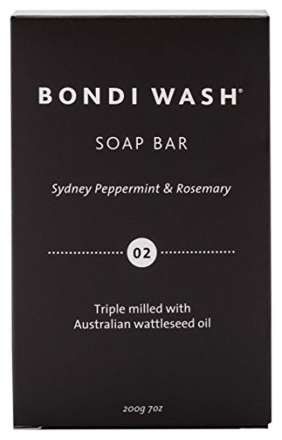 素晴らしき経歴落胆させるBONDI WASH ソープバー(固形石鹸) シドニーペパーミント&ローズマリー 200g