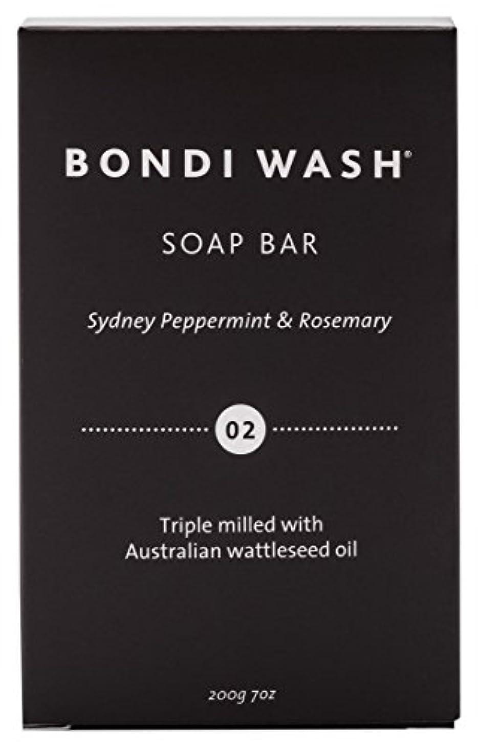 マイルストーンラウズ明日BONDI WASH ソープバー(固形石鹸) シドニーペパーミント&ローズマリー 200g