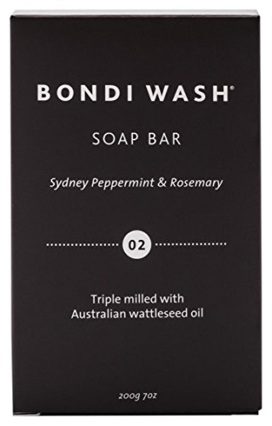 矢じりパイプ擬人BONDI WASH ソープバー(固形石鹸) シドニーペパーミント&ローズマリー 200g