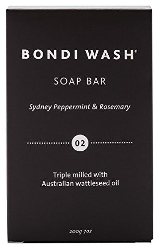 シンプルさ早いマオリBONDI WASH ソープバー(固形石鹸) シドニーペパーミント&ローズマリー 200g
