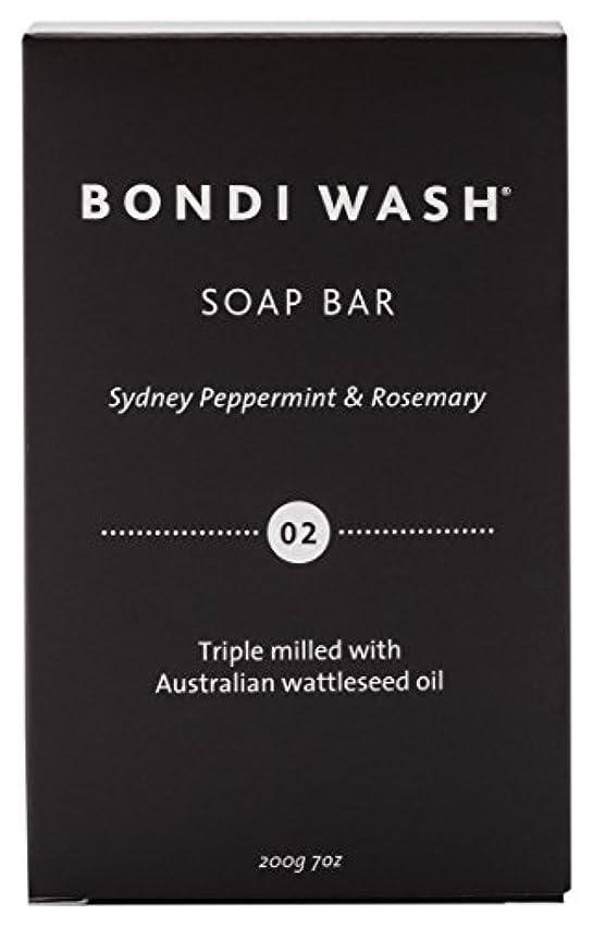 今日マサッチョ郵便屋さんBONDI WASH ソープバー(固形石鹸) シドニーペパーミント&ローズマリー 200g