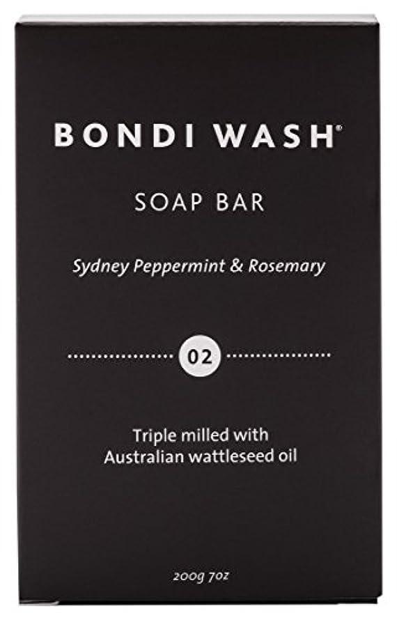栄養脚裏切りBONDI WASH ソープバー(固形石鹸) シドニーペパーミント&ローズマリー 200g