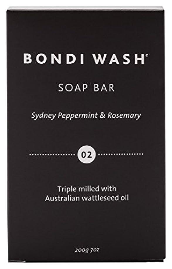 コードレスなに性差別BONDI WASH ソープバー(固形石鹸) シドニーペパーミント&ローズマリー 200g