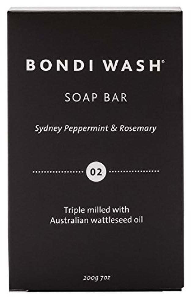 見える仮説絶対にBONDI WASH ソープバー(固形石鹸) シドニーペパーミント&ローズマリー 200g