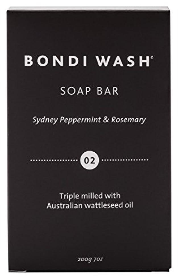 ローブ新聞歌詞BONDI WASH ソープバー(固形石鹸) シドニーペパーミント&ローズマリー 200g