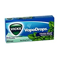 Vicks VapoDrops 20's Menthol - Case of 12 by Vicks