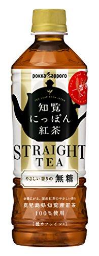 ポッカサッポロフード&ビバレッジ 知覧にっぽん紅茶 500ml 1箱(24本)