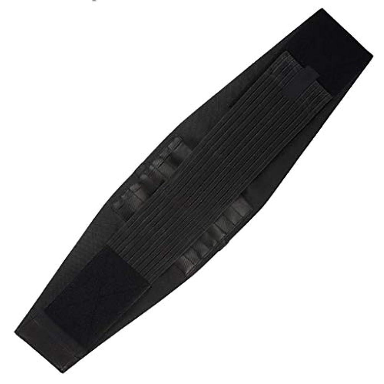 広々横に除外するウエストマッサージャー、エクササイズバックサポートベルト、痛み/圧力を和らげる