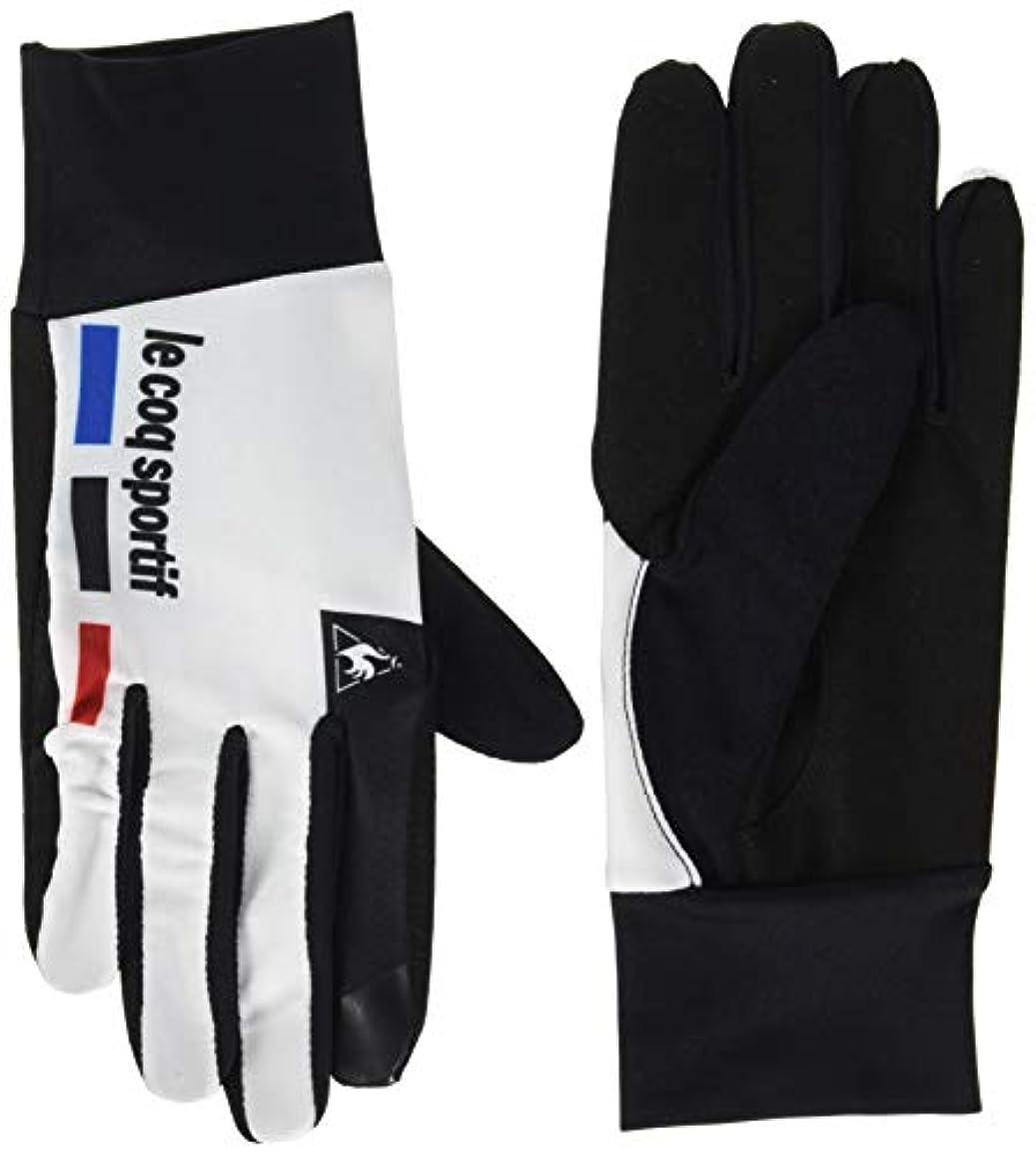 彼らはラバために[ルコックスポルティフ] グローブ 手袋 QCAMGD02 ホワイト 日本 S (日本サイズS相当)