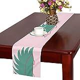 GGSXD テーブルランナー 親しい ハリネズミ クロス 食卓カバー 麻綿製 欧米 おしゃれ 16 Inch X 72 Inch (40cm X 182cm) キッチン ダイニング ホーム デコレーション モダン リビング 洗える