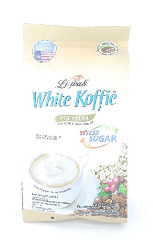 Luwak Brand luwak koffieレスシュガー3in1のインスタントコーヒー10-ct、200グラム(2パック)