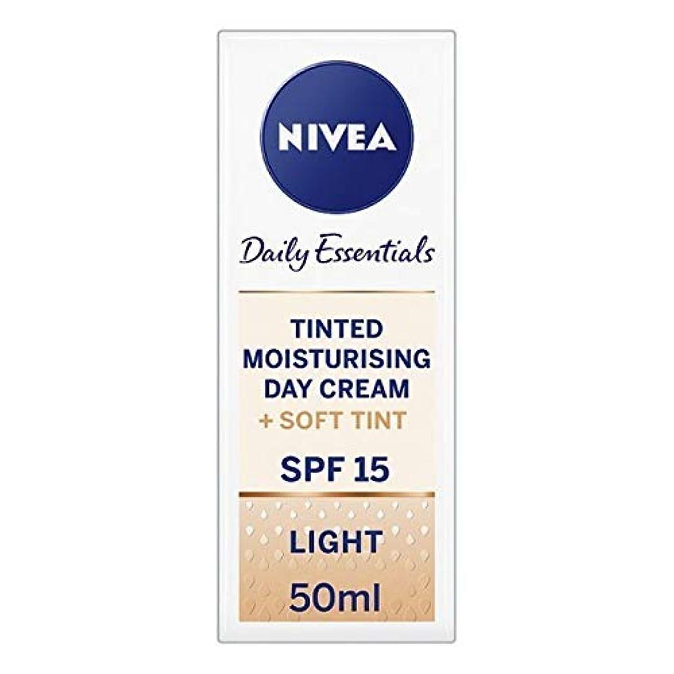ボトルネック病的スケジュール[Nivea ] ニベアヴィサージュ着色保湿クリームの50ミリリットル - Nivea Visage Tinted Moisturising Cr?me 50ml [並行輸入品]