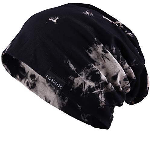 Ruphedy メンズニット帽子 薄手 大きいサイズ サマー...