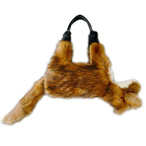 【verthandi】 Ecofur FOX BAG( キツネ バッグ )