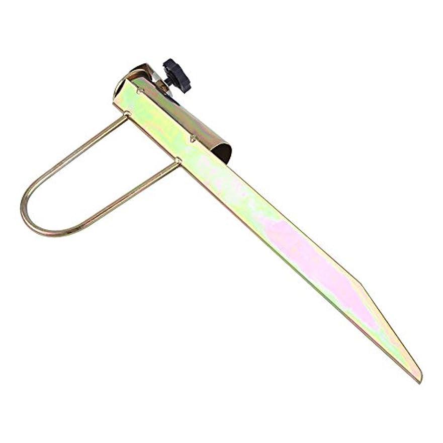 オーバーフロー誠意彫る日傘ホルダー、サンビーチ釣り傘ホルダー庭パラソルやビーチなどのための砂日傘ベーススタンドホルダー傘スタンドホルダー。