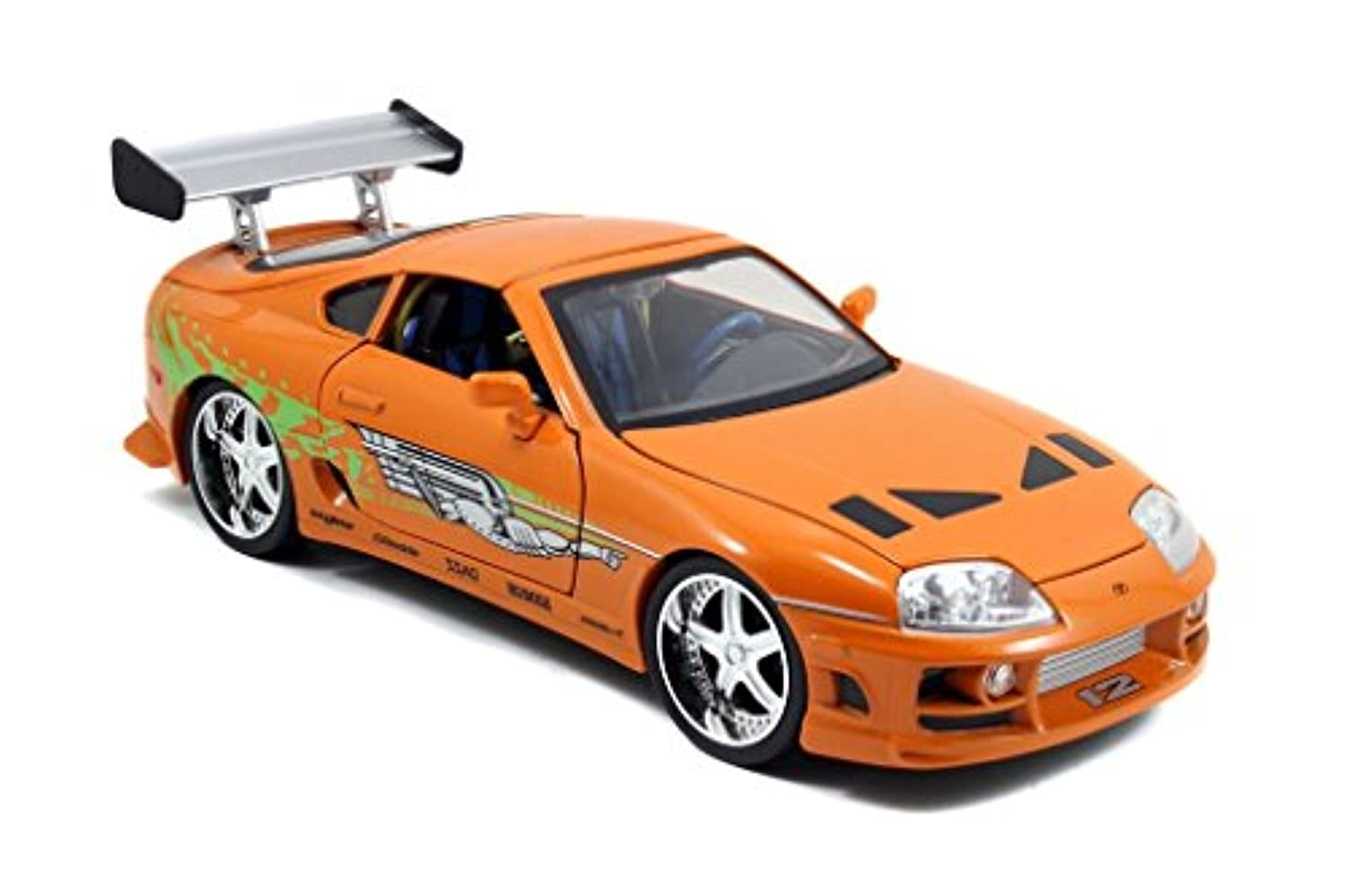 Jada Toys Fast & Furious Toyota Supra 1:18 Diecast Vehicle, Orange by Jada