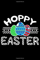 """Hoppy Easter: 6"""" x 9"""" 120 pages quad Journal I 6x9 graph Notebook I Diary I Sketch I Journaling I Planner I Gift for geek I funny Math"""
