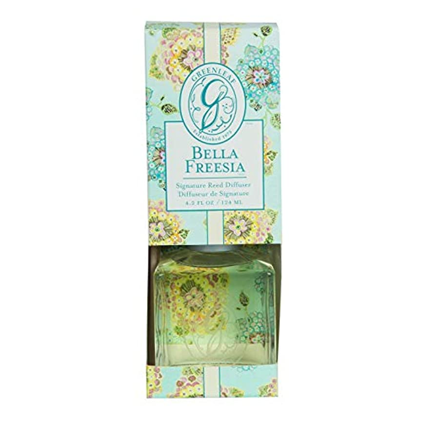 レンジ賢いプロペラGREENLEAF REED DIFFUSER BELLA FREESIA