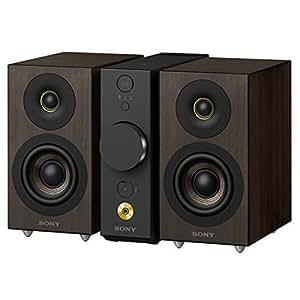 SONY CAS-1 コンパクトオーディオシステム ハイレゾ音源対応 セパレートタイプ Bluetooth対応 ブラック CAS-1/B