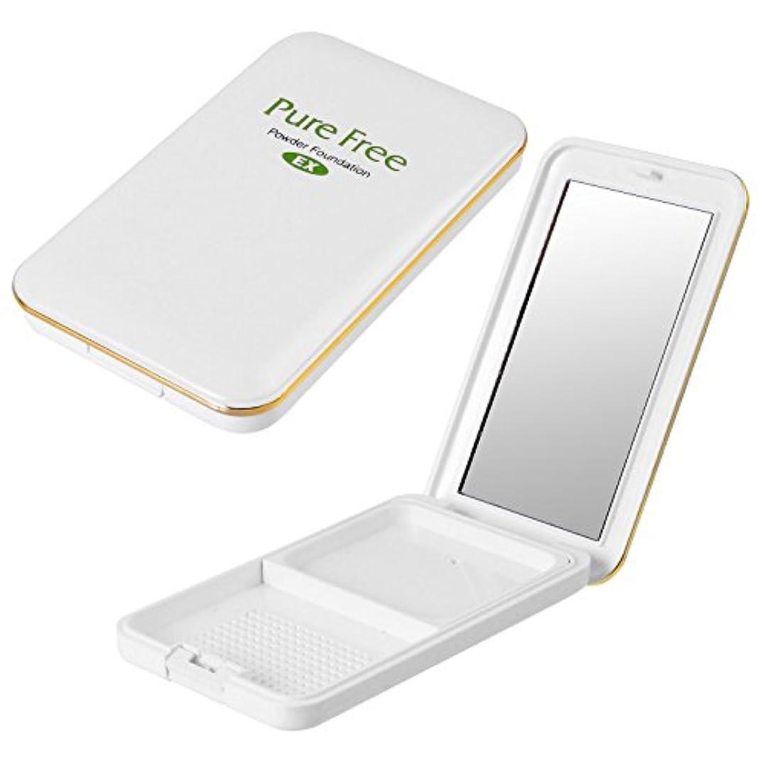 平和的ぼんやりしたマイナスPure Free (ピュアフリー) パウダーファンデーションEXコンパクト(専用パレット) オーガニック 正規品 ファンデーション専用パレット