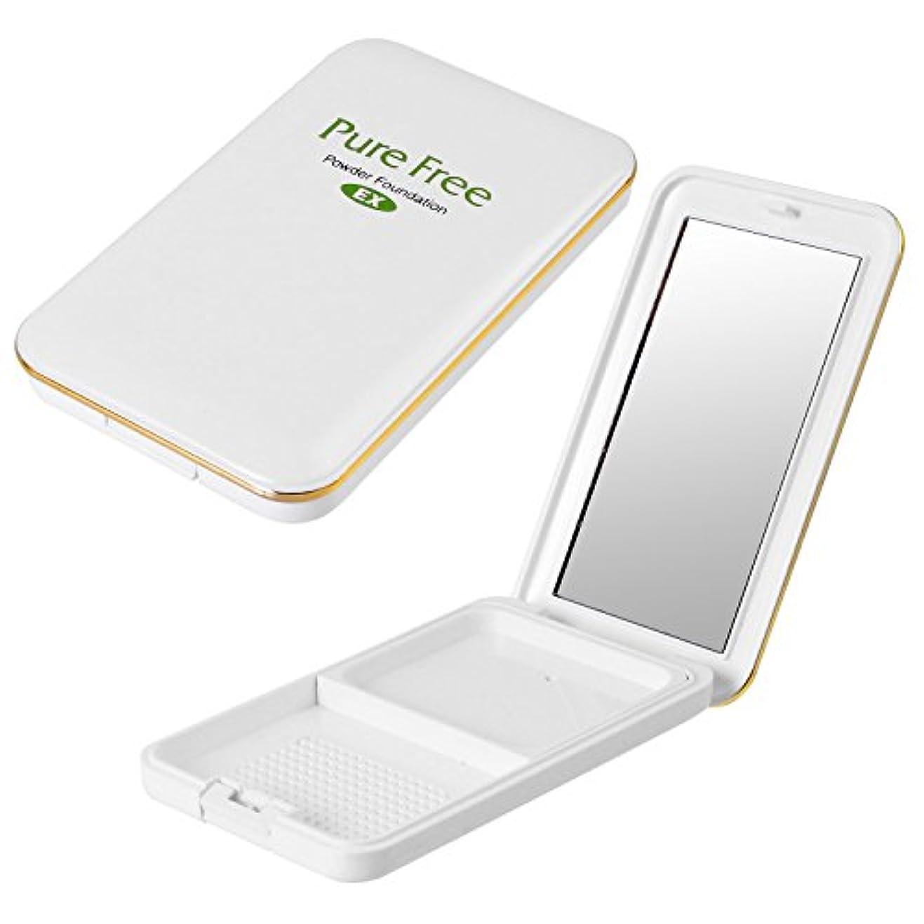 ダイヤモンドフィドル飼料Pure Free (ピュアフリー) パウダーファンデーションEXコンパクト(専用パレット) オーガニック 正規品 ファンデーション専用パレット