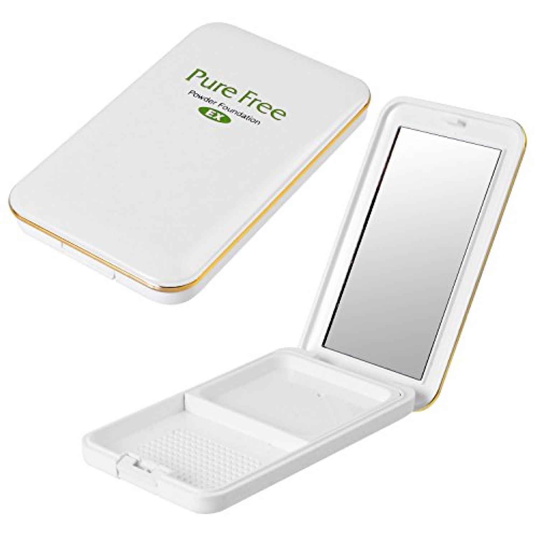 Pure Free (ピュアフリー) パウダーファンデーションEXコンパクト(専用パレット) オーガニック 正規品 ファンデーション専用パレット