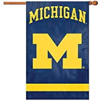The Party Animal Party Animal Michigan Wolverinesアップリケバナー国旗
