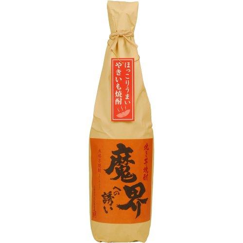 魔界への誘い 黒麹仕込み 焼芋 瓶 25度 1800ml