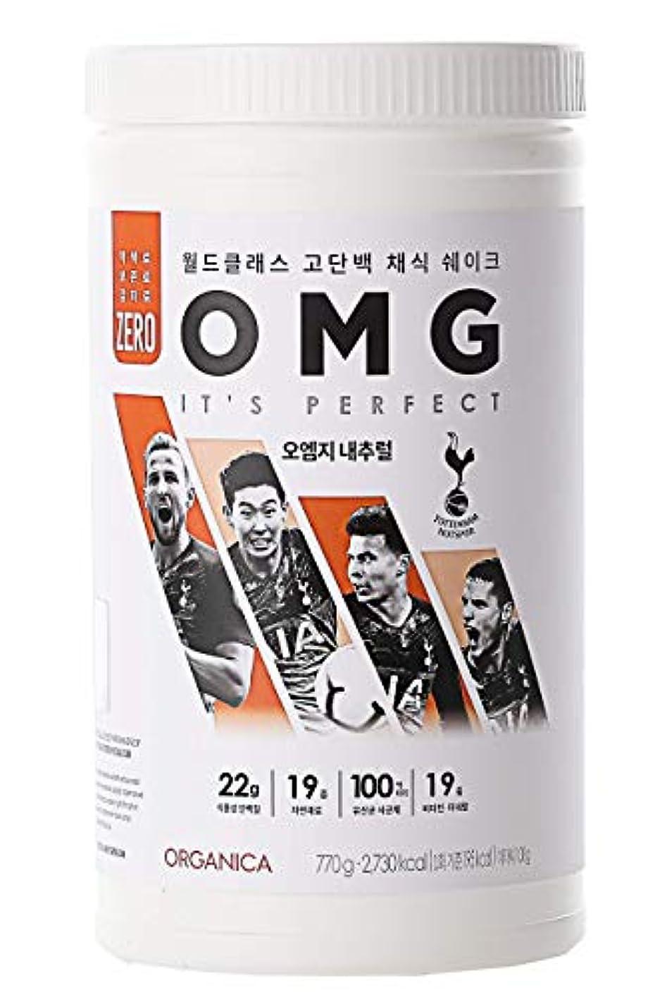強制的積分初期のオーエムジー タンパク質 ダイエット シェイク (OMG, protein shake) (ナチュラル)