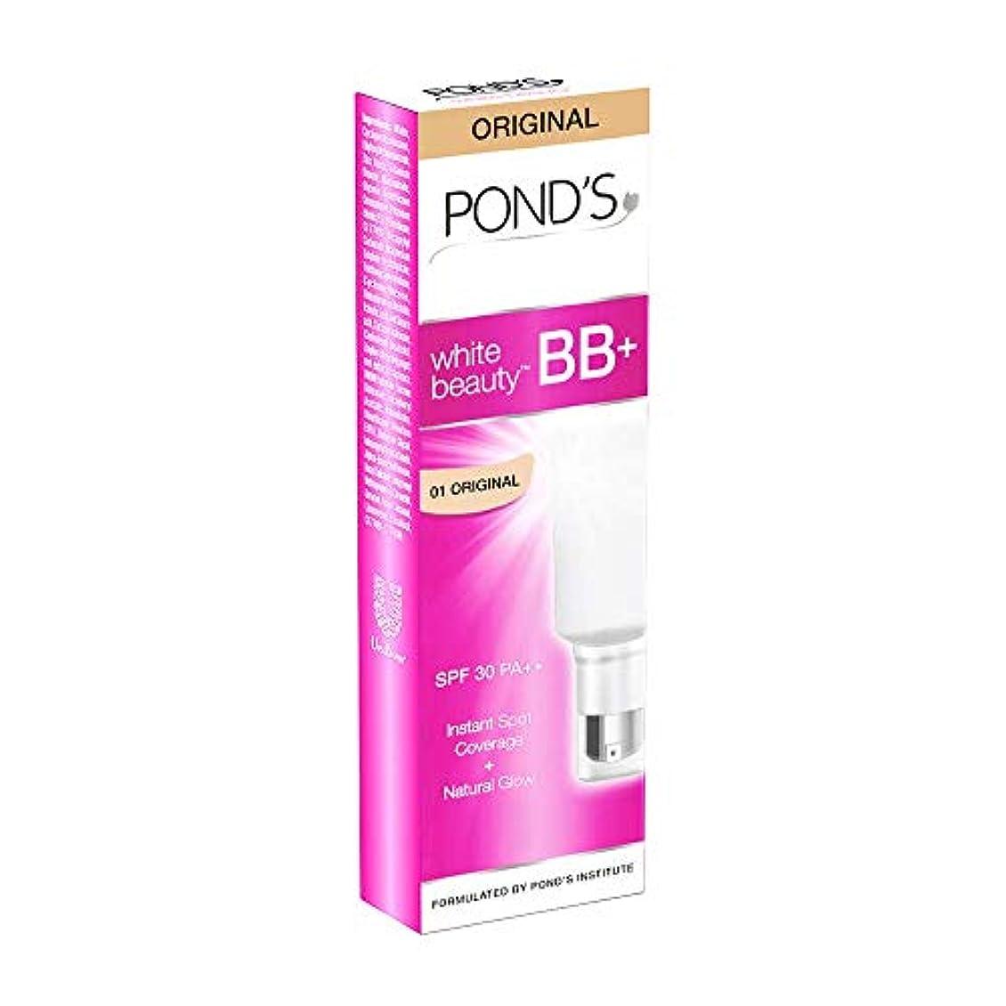 ひどくりんごに同意するPOND'S White Beauty All-in-One BB+ Fairness Cream SPF 30 PA++, 18g (Pack of 3)