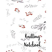 Knitting Notebook: 100 Pages 4:5 Knitting Graph Paper & Lined Note Paper : Large 8.5 x 11