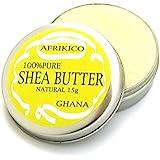 アフリキコ (AFRIKICO) シアバター (未精製100%) (ナチュラル, 15g)