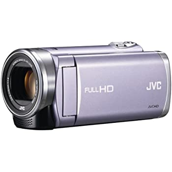 JVCKENWOOD JVC ビデオカメラ EVERIO GZ-E225 内蔵メモリー 8GB バイオレット GZ-E225-V