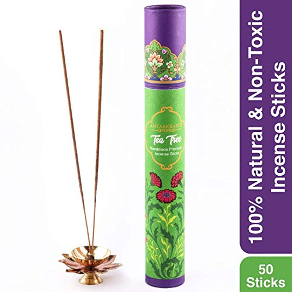 ミリメーターつらい石油Antarkranti Tradition Tea Tree Incense Stick Agarbatti