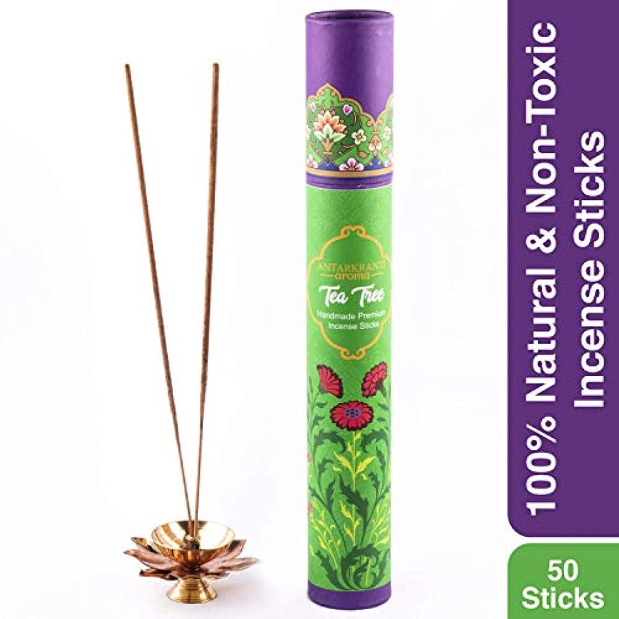 パイプリング失敗Antarkranti Tradition Tea Tree Incense Stick Agarbatti