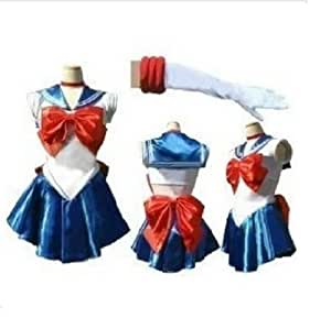 ハロウィン コスプレ 衣装 美少女戦士 月野うさぎ セーラームーン サイズM セット
