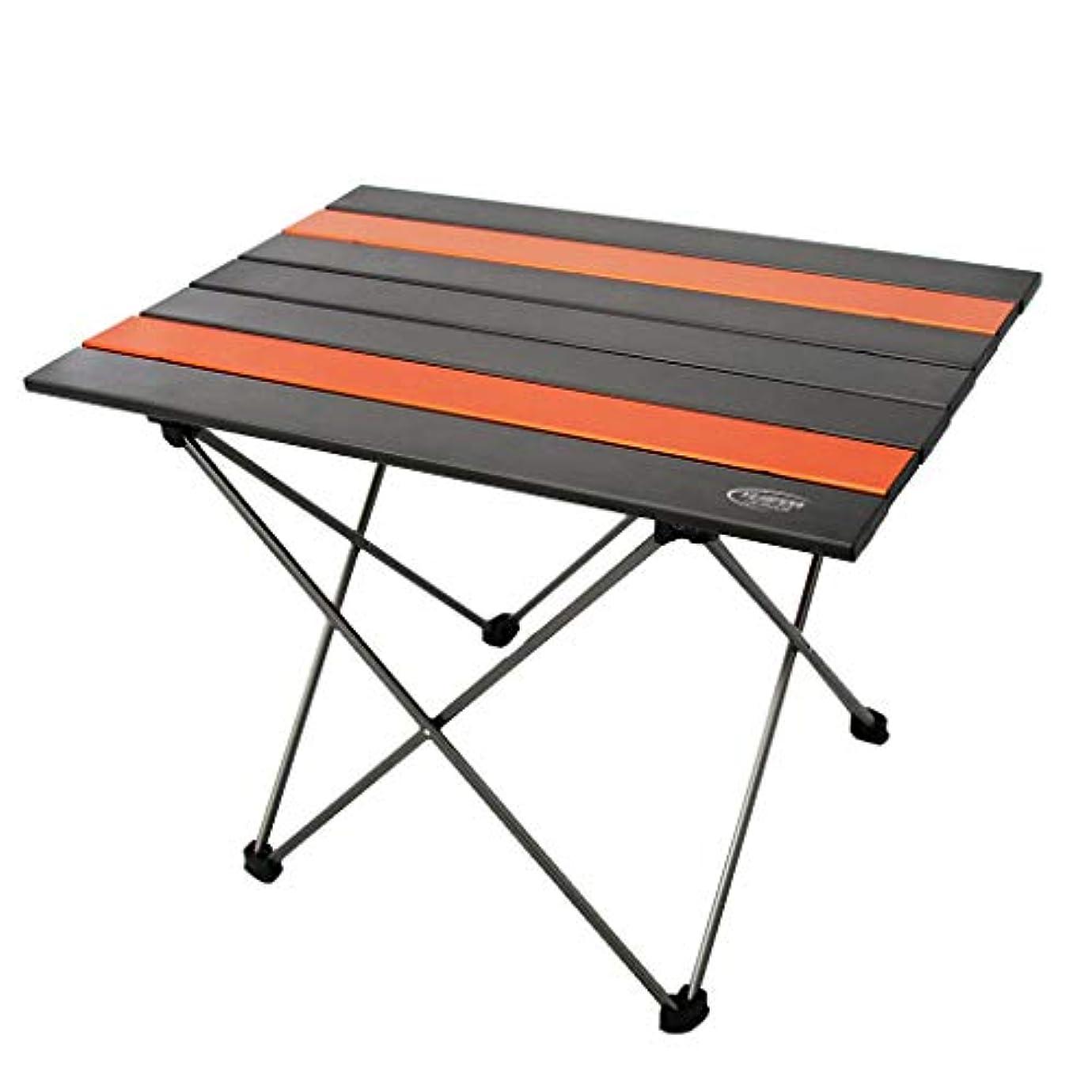 男らしさの慈悲で不名誉なFLAMEER アルミニウム合金 折りたたみ式 テーブル キャンプ用品 全2サイズ