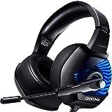 【ゲーミングヘッドセット】ONIKUMA PS4ヘッドセット PCヘッドセット K6ゲーミングヘッドホン ゲーム用 Switch PS4 Xbox One パソコン ノイズキャンセルマイク FPSゲーム最適