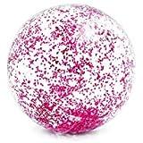 INTEX(インテックス) ビーチボール トランスパレント グリッターボール 直径71cm 58070 【色指定不可】 [日本正規品]