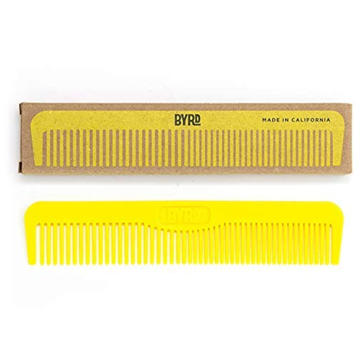 BYRD Pocket Comb - Durable, Flexible, Tangle Free, Styling Comb, For All Hair Types, Back Pocket Friendly [並行輸入品]