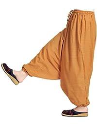MARAI(マーライ) サルエルパンツ メンズ レディース 春 夏 大きいサイズ アラジンパンツ サルエル