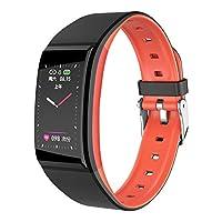 B86カラースクリーン女性の生理サイクルは、心拍数インテリジェントステップIP67防水スマートブレスレットを思い出させる-赤