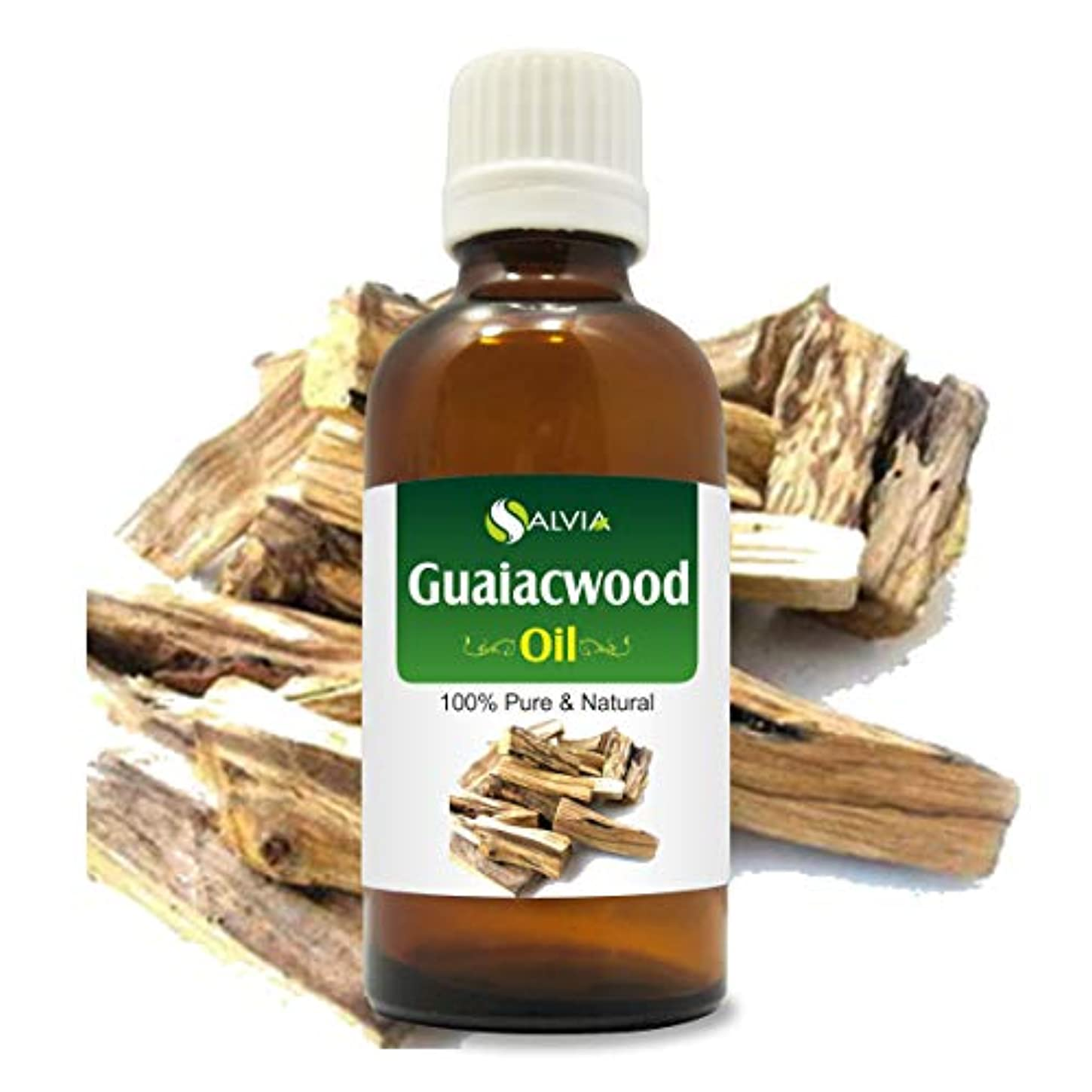 ギャンブル冬通訳Guaiacwood Oil (Bulnesia sarmientoi) 100% Natural Pure Undiluted Uncut Essential Oil 50ml