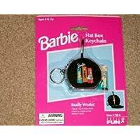 Barbie(バービー) Hat Box Keychain with Mini Barbie(バービー) Doll ドール 人形 フィギュア(並行輸入)
